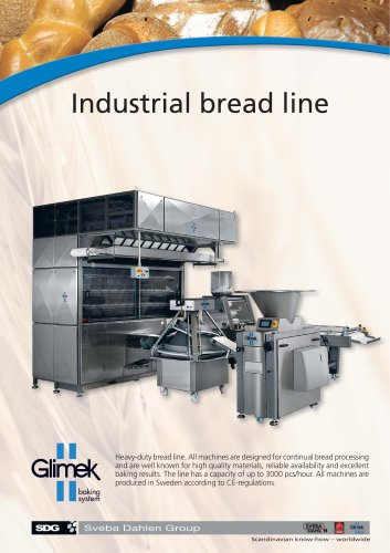 Glimek Industrial Bread Line with MO-881