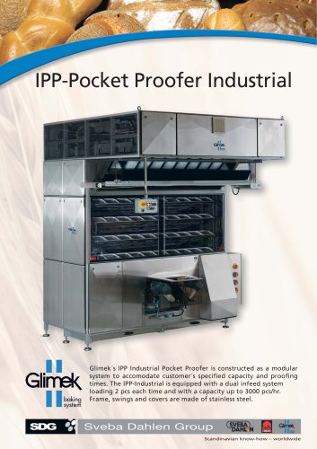 Glimek IPP-300 Industrial Pocket Proofer