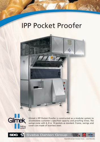 Glimek IPP-300 Intermediate Pocket Proofer