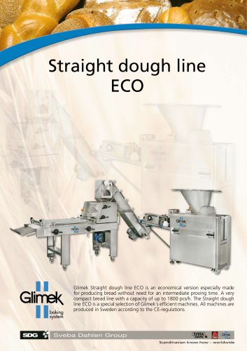 Glimek Straight Dough Line 'ECO'