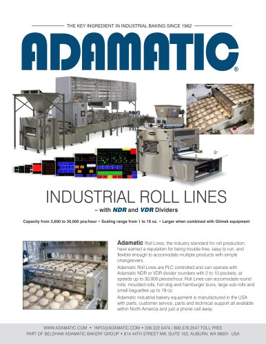 INDUSTRIAL ROLL LINES