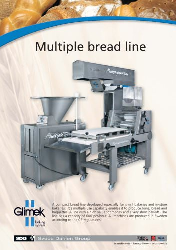 Multiple bread line