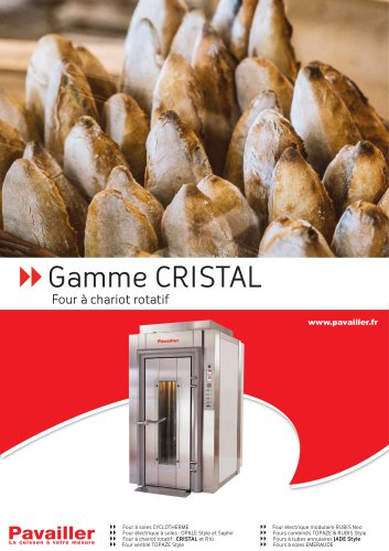 Gamme CRISTAL