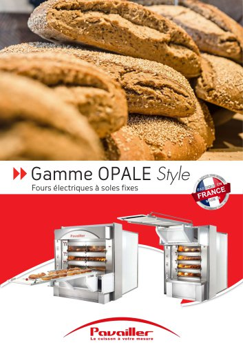 Gamme OPALE Style