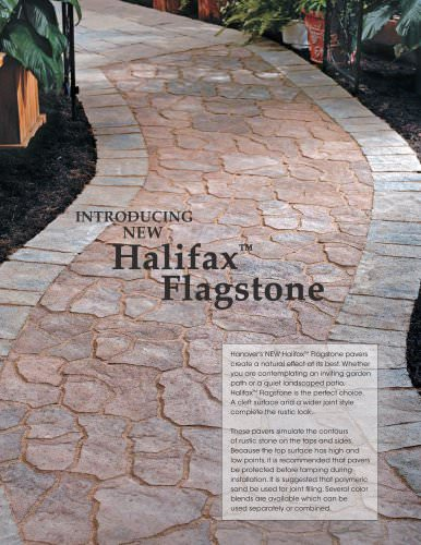· Halifax® Flagstone Flyer