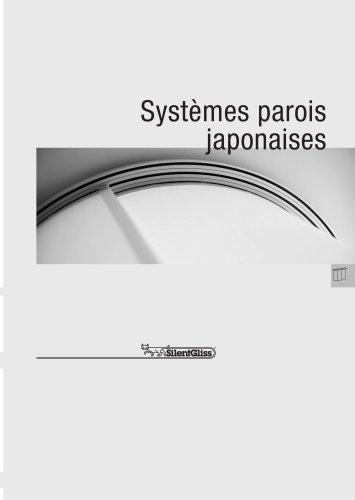 Systèmes parois  japonaises