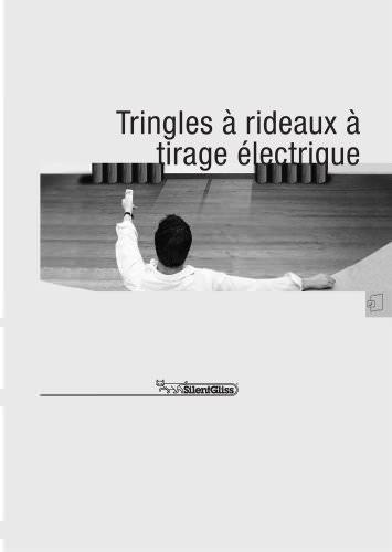 Tringles à rideaux à  tirage électrique