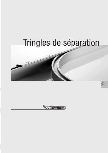 Tringles de séparation