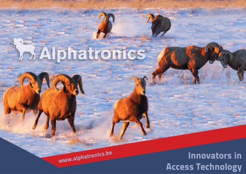 Catalogue Alphatronics