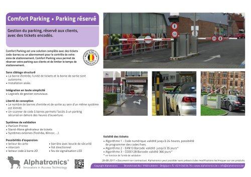 Parking reservé • Comfort Parking