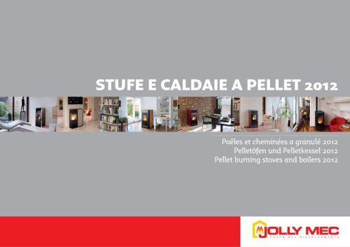 Pellet burning stoves and boilers 2012