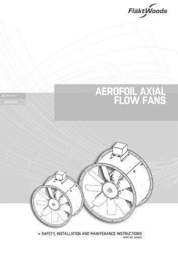 Aerofoil Axial Flow Fans