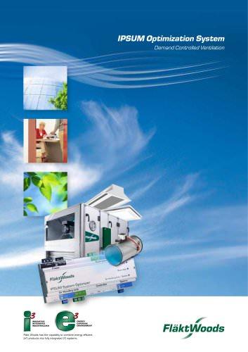 IPSUM Optimization System Demand Controlled Ventilation