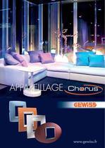 Appareillage CHORUS 2012