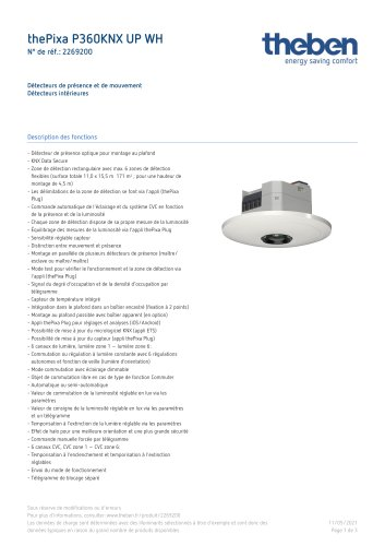 thePixa P360 KNX UP WH