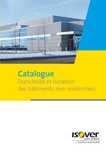 Etanchéité et isolation des bâtiments non résidentiels