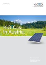 KIOTO Photovoltaics - Image Brochure