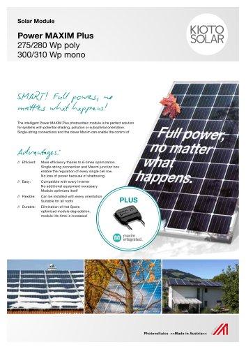 Power MAXIM Plus