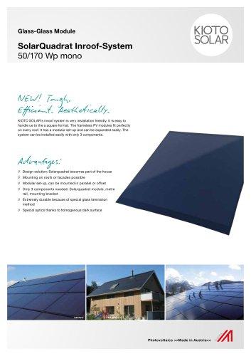 SolarQuadrat Inroof-System