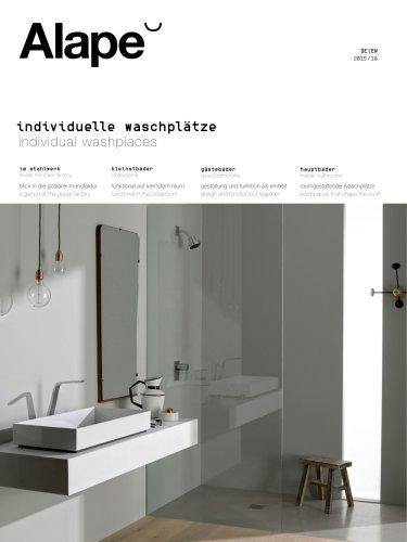 individual washplaces