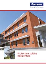 Protection solaire horizontale