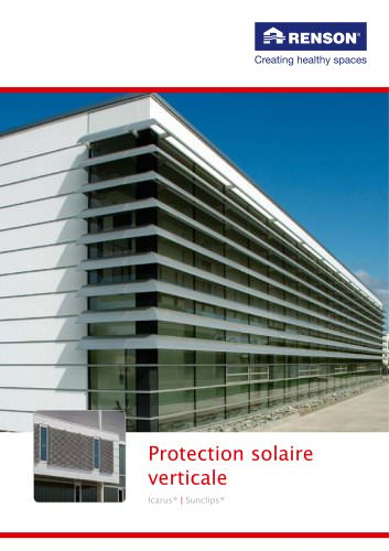 Protection solaire verticale