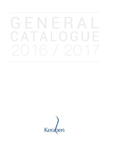 GENERAL CATALOGUE 2016/2017