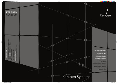 Keraben Systems 2012 Catalogues