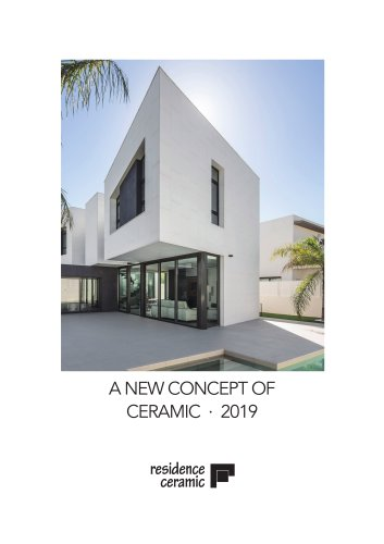 A NEW CONCEPT OF CERAMIC · 2019
