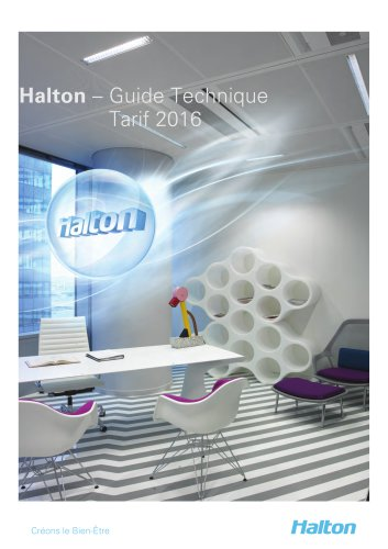 Halton – Guide Technique Tarif 2016