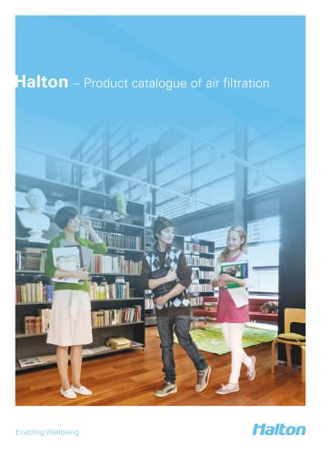 Product catalogue of air filtration