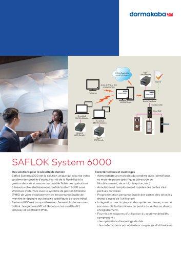 SAFLOK System 6000