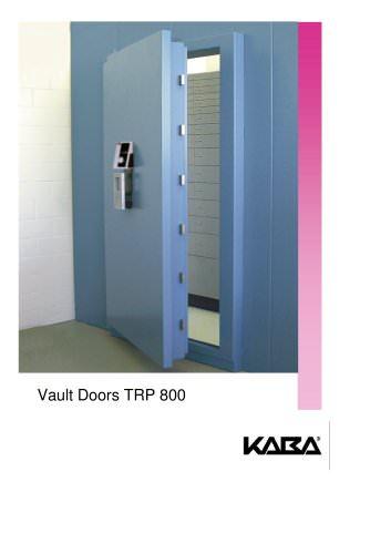 Vault Doors TRP 800