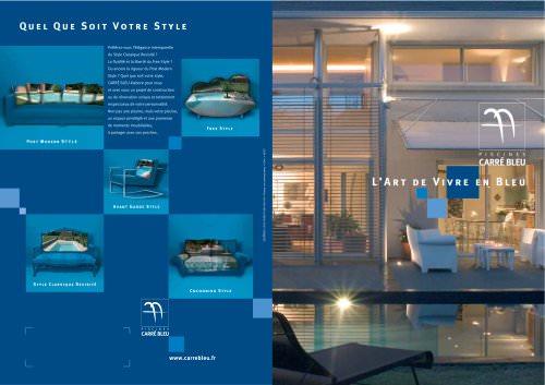 L'art de vivre en bleu, bien plus qu'une piscine...