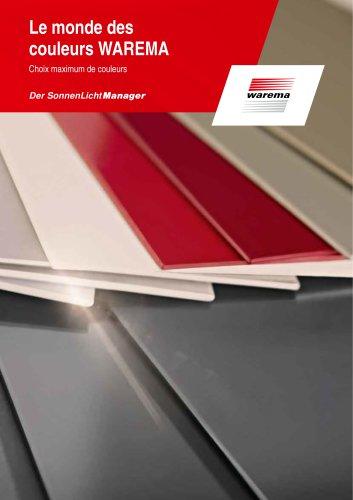 Brochure du monde des couleurs y compris tableau