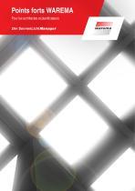 Brochure des points forts pour les architectes