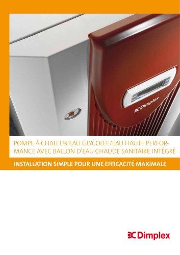 Pompe à chaleur eau glycolée/eau
