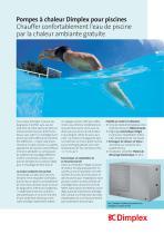 Pompes à chaleur Dimplex pour piscines - 1
