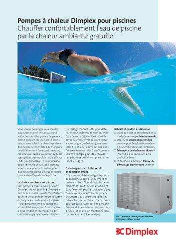 Pompes à chaleur Dimplex pour piscines