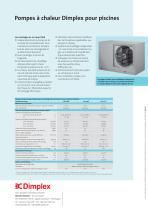 Pompes à chaleur Dimplex pour piscines - 2