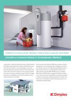 Pompes à chaleur de production d?eau chaude sanitaire - 1