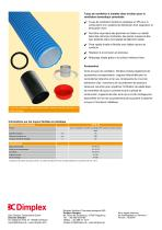 Tuyau de ventilation à installer dans le béton - 2