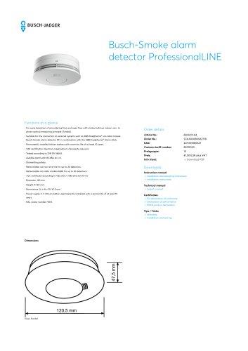Busch-Smoke alarm detector ProfessionalLINE