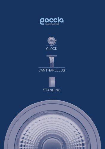 CLOCK / CANTHARELLUS / STANDING - Produit Noveau