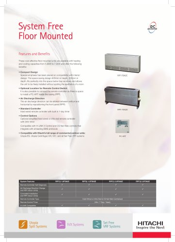 System Free Floor Mounted