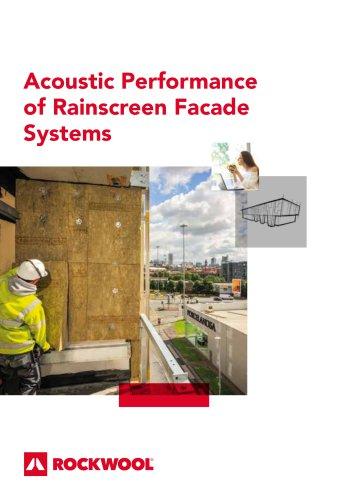Acoustic Performance of Rainscreen Facade Systems
