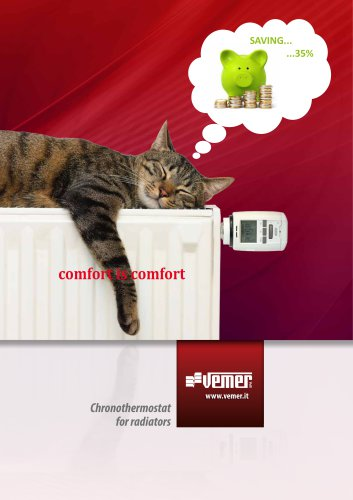 chronothermostat for radiator