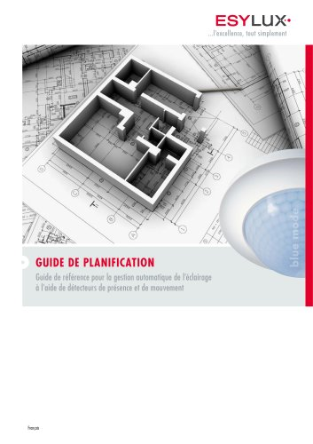 ESYLUX GUIDE DE PLANIFICATION 2011