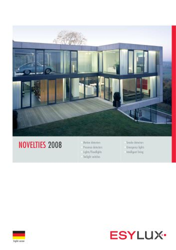 ESYLUX Novelties 2008