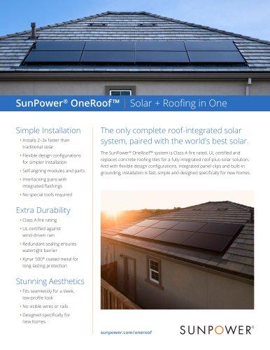 SunPower OneRoof